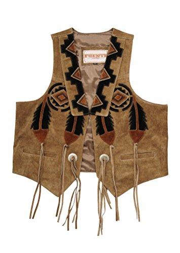 Gilet Marrone Wears Uomo Fuente Chiaro Leather qZw0xZaY