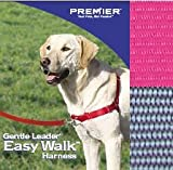 PREMIER Easy Walk Dog Harness Size:Large Color:Raspberry, My Pet Supplies