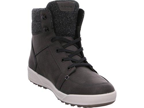 Lowa Molveno GTX, Chaussures de Trekking Et Randonnée Homme, Noir/Rouge 0937