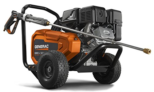 Generac 6712 3,800 PSI 3.2 GPM Professional Grade Gas Pressure Washer
