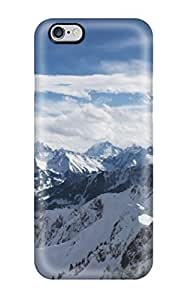 Hot Tpu Cover Case For Iphone/ 6 Plus Case Cover Skin - Alps Mountains Dual Monitor
