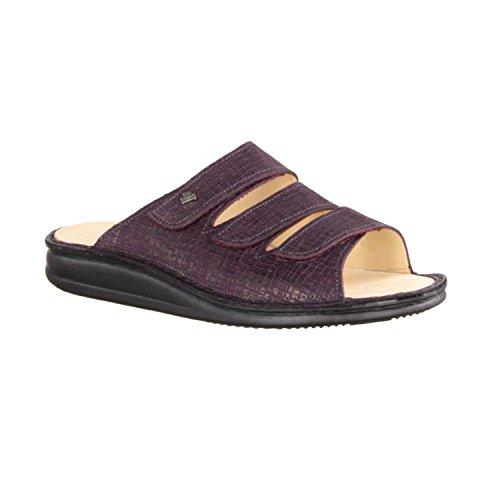Finn Comfort Corfú - Zapatos mujer Zapato abierto / Chanclas de dedo, Varios colores, cuero (cris)
