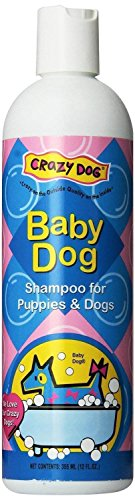 Scented Pet Shampoo Crazy Dog 12 Ounce Pet Cleanser Wash - Choose From 3 Scents(Baby Dog)