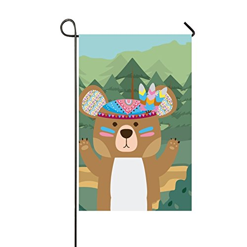 Lucy Curme Welcome Hippie Garden Flag - Vertical double Side