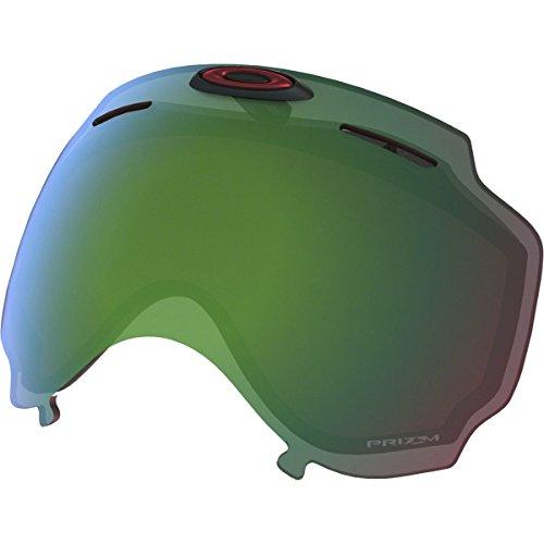 Oakley Men's Airwave Snow Goggle Replacement Lens, Prizm Jade Iridium, Prizm Jade Iridium, Large (Oakley Jade Iridium Lenses)