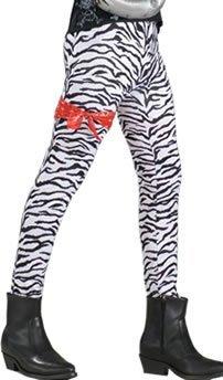 Fancy Dress Costumes | Zebra Print Pants by Bristol Novelties -