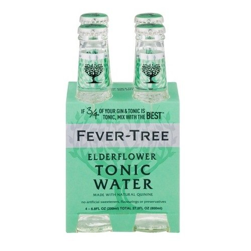 Fever Tree Water Tonic Elderflower, 6.8 fl oz by Fever-Tree