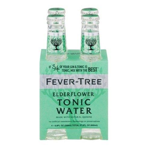 Fever Tree Water Tonic Elderflower, 6.8 fl oz