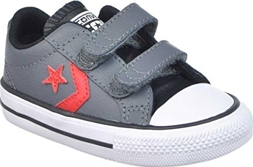 Sneakers velcro niño Converse Star Player Ev Thunder-Black GRIS