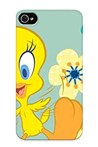 Anti-scratch And Shatterproof Tweety Bird Theme Free Phone Case For Iphone 4/4s/ High Quality Tpu Case