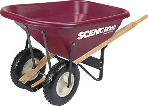 SCENIC ROAD PARTS BOX M8-2FF Wheelbarrow