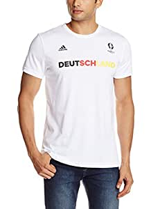 adidas Selección de Alemania - Camiseta Oficial para Hombre, Talla M