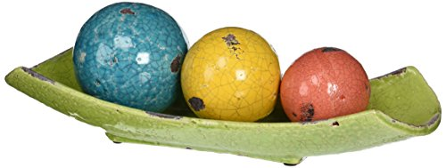 imax-40176-4-mercade-decorative-ceramic-balls-in-tray-set-of-4