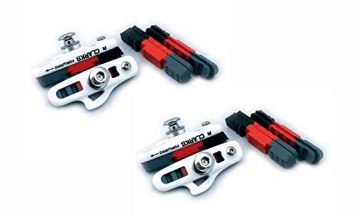 CLARKS CPS250 55mm SRAM SHIMANO TEKTRO INTEGRAL BIKE BRAKE BLOCKS PADS Pair