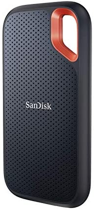 SanDisk 1TB Extreme Portable SSD - Up to 1050MB/s - USB-C, USB 3.2 Gen 2 - External Solid State Drive - SDSSDE61-1T00-G25