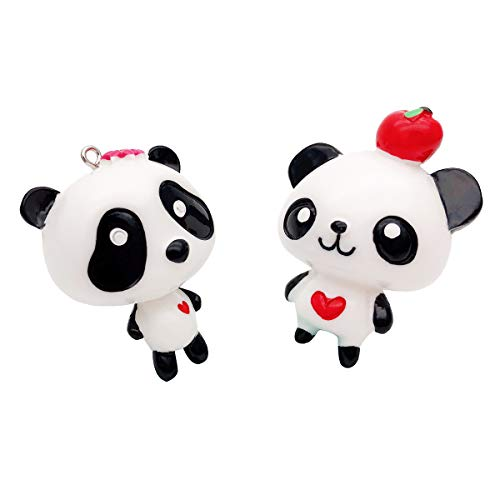 Karmiir Refrigerator Magnets 3D Panda Kitchen Fridge Decor Magnets for House or Office
