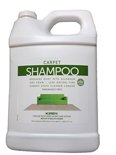 Control Allergen Carpet (1 Gallon Genuine Kirby Allergen Shampoo (UnScented). Use with all model Kirby Vacuum Cleaner Shampooer Systems.)