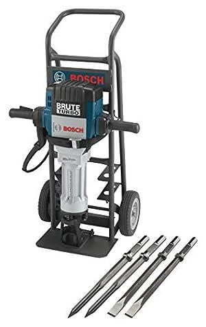Bosch BH2770VCD 120-Volt 1-1/8 Hex Breaker Hammer Brute Turbo Deluxe Kit & HS2161 20 In. Moil Point 1-1/8 In. Hex Hammer Steel