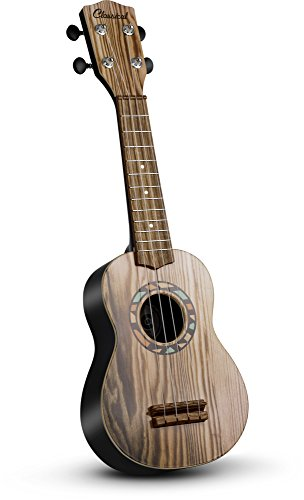 "JaxoJoy 21"" Wooden Guitar / Ukulele 