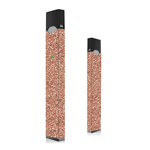 Rose Gold Glitter Skin for Vape | Wrap | Decal