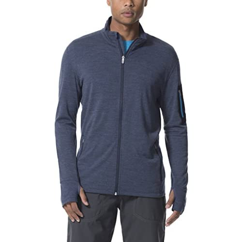 7ed09bb88 30%OFF Icebreaker Men's Compass Long Sleeve Zip T-Shirt - www ...