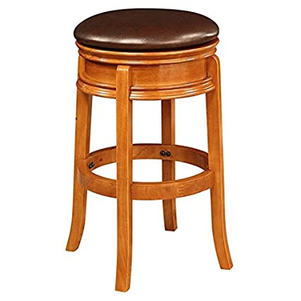 Swell Amazon Com Bar Stool 29 In Solid Hardwood Construction Squirreltailoven Fun Painted Chair Ideas Images Squirreltailovenorg
