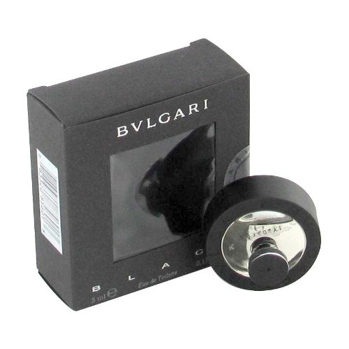 Bulgari Mini Edt - BVLGARI BLACK (Bulgari) by Bulgari Mini EDT .17 oz