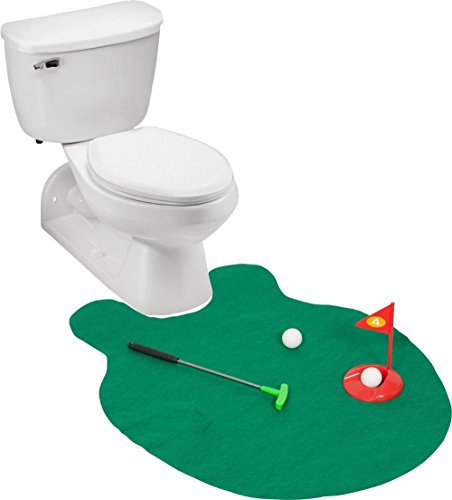 LiangTing Potty Golf- Putter Pratcice for any toilet with this Potty Putter