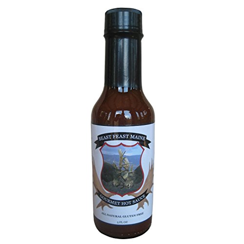 [Gourmet Hot Sauce | All Natural Handcrafted Gluten Free Maple Syrup Sweetened Sauce with Maine Homemade Worcestershire Sauce (5 oz)] (Frank's Red Hot Costume)