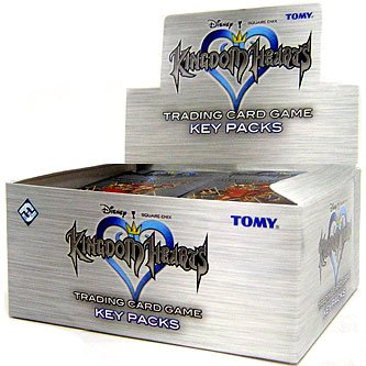 Kingdom Hearts CCG Trading Card Game Series 1 Key Box (36 Packs)