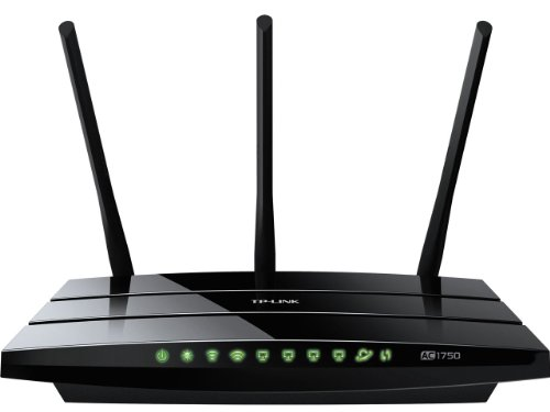 TP-LINK Archer C7 AC1750 Dual Band Wireless AC Gigabit Router 2.4GHz 450Mbps5Ghz 1300Mbps 2 USB Port IPv6 Guest Network
