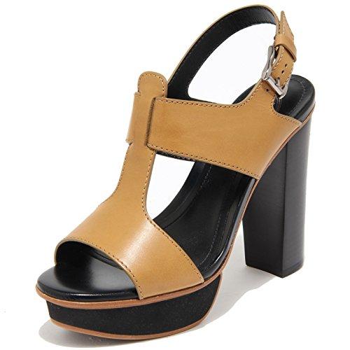 55457 sandalo TODS PLATEAU FASCE scarpa donna shoes women Beige