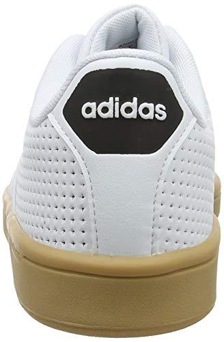 Black Advantage White para Blanco CF 0 Footwear Adidas Footwear White Hombre Core Zapatillas qP6pxng