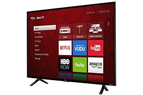 TCL 43S403 43″ 4K UHD HDR Roku Smart LED TV (Certified Refurbished)