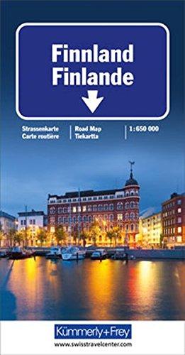 Finnland Strassenkarte: Massstab 1:650 000 (Kümmerly+Frey Strassenkarten) (Englisch) Landkarte – Folded Map, 23. Juli 2018 Hallwag Kümmerly+Frey AG Kümmerly + Frey 3259011609 Karten / Stadtpläne / Europa