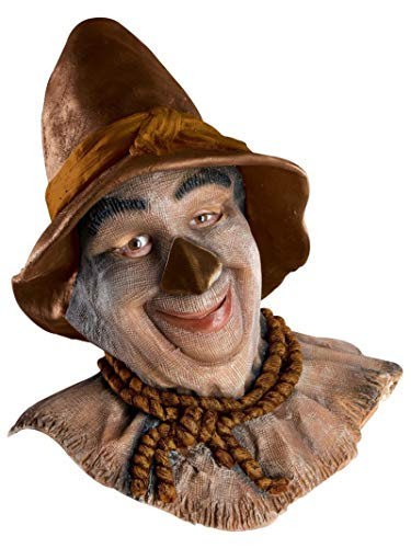 Rubie's Costume Co Wizard of Oz Overhead Scarecrow Mask, Multicolor, One ()