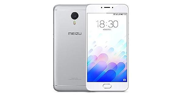 MEIZU M3 Note Helio P10 2GB RAM 16GB ROM MTK6755 1.8GHz Octa Core 5.5 Inch 2.5D FHD Screen Android 5.1 4G LTE Smartphone Silver: Amazon.es: Electrónica