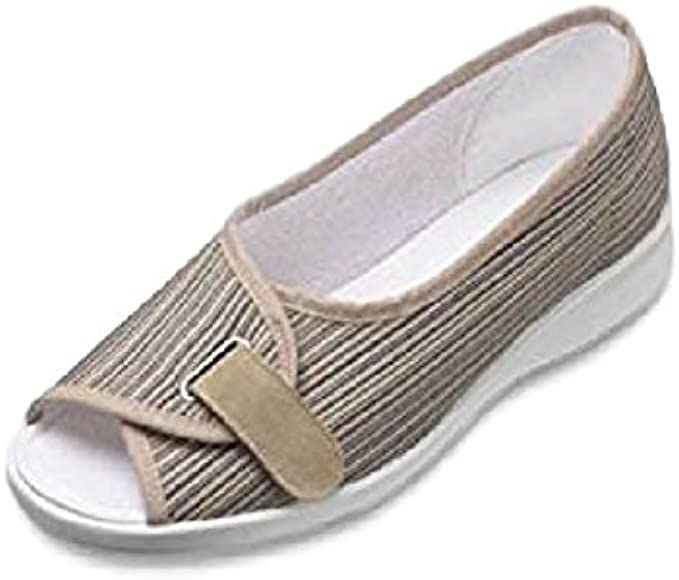 Ladies Extra Wide 4e Fitting Open Toe