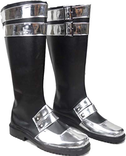 Mister Bear D Gray-Man Kanda Yu Cosplay Costume Boots Boot Shoes Shoe