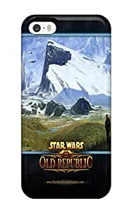 Awesome Star Wars Old Republic Flip Case With Fashion Design For Iphone 5/5s