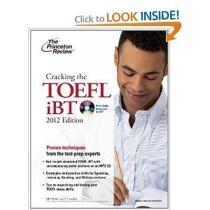 Cracking the Toefl Ibt with Cd, 2012 Edition (College Test Preparation) [Paperback]