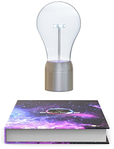 Levitating Magnet LED Lamp by SpaceB, Unique Gifts, Room Decor Night Light, Novelty Birthday Floating Magnetic Levitron, Home Office Desk Tech Toys