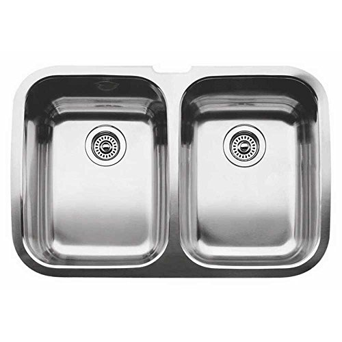- 513-457 Blanco Silver Elite Double Bowl Undermount (440-160)