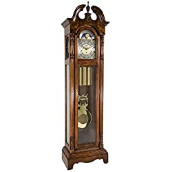 Hermle 010874041161 Chester Grandfather Clock - Dark Oak