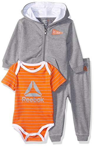 Creeper Jacket For Kids - Reebok Baby Boys 3 Piece Fleece