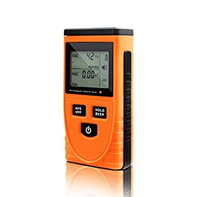 Perfect-Prime MW3120 Electromagnetic Radiation Detector/Tester Electric: 1-1999V/m; Magnetic: 0.01-19.99?T