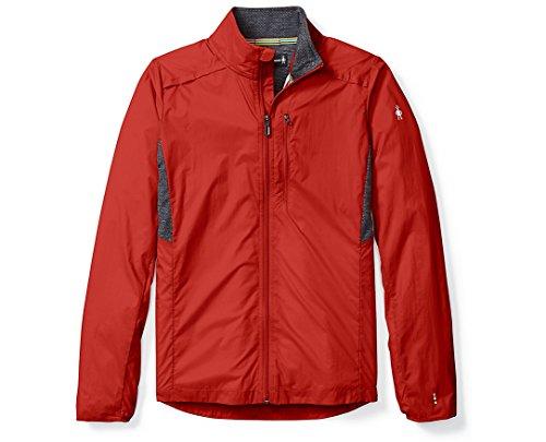 SmartWool Men's PhD¿ Ultra Light Sport Jacket Tandoori Orange Large