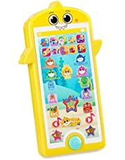 WowWee Baby Shark's Big Show! Mini Tablet for Kids – 123 and ABC Learning Toys for Toddlers – Kids Tablets (Handheld)