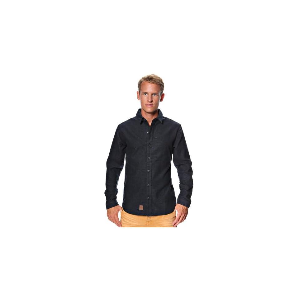 Anerkjendt Mens Meir Long sleeved Shirt Large Black
