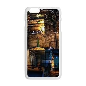 Creative House Graffiti Pattern Custom Protective Hard Phone Cae for iphone 6 4.7